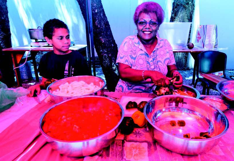 Le Musée de Nouvelle-Calédonie a accueilli une nouvelle édition des dimanches au jardin, hier, en prélude de la journée mondiale de l'alimentation.