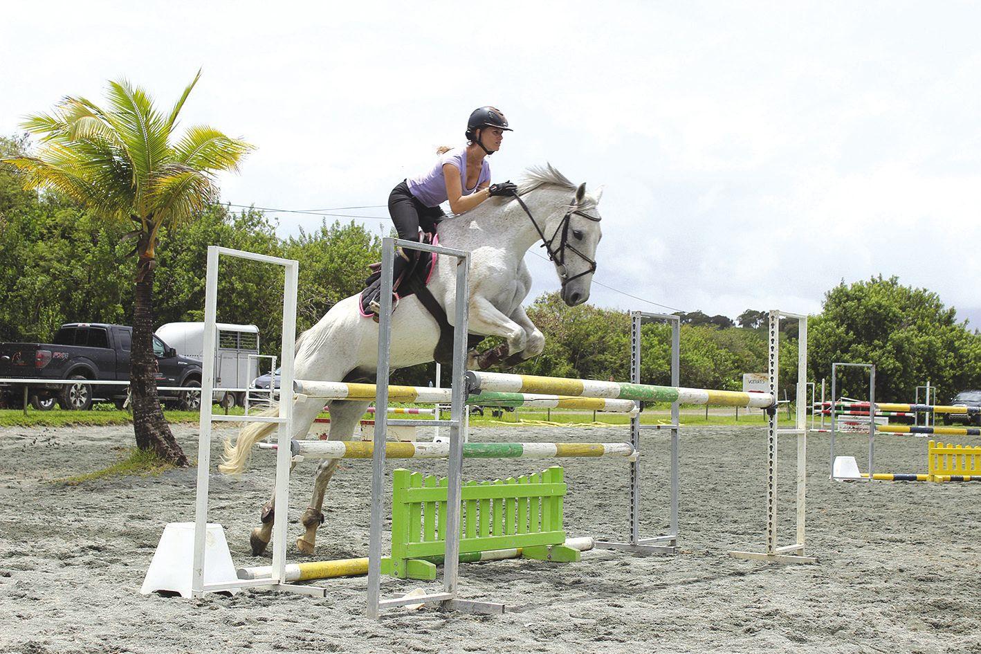 Ils sont 35 cavaliers et cavalières à avoir bravé la pluie toute la semaine dernière pour suivre les cours de Jean-Pierre Cosnuau, à La Gourmette, à Nouméa. Une session qui s'est terminée samedi avec le retour du beau temps.