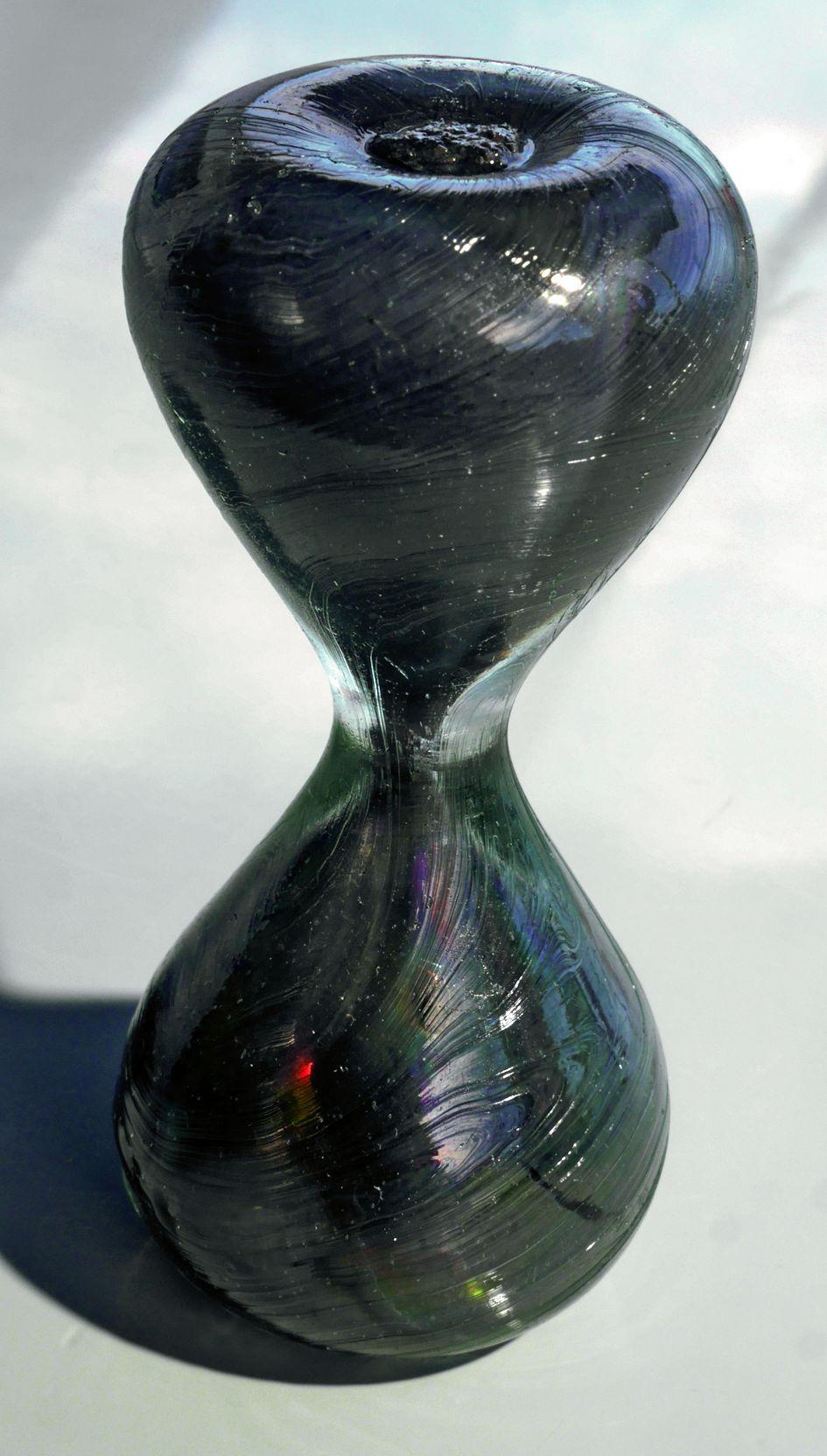 Le temps semble s'être arrêté dans ce sablier.