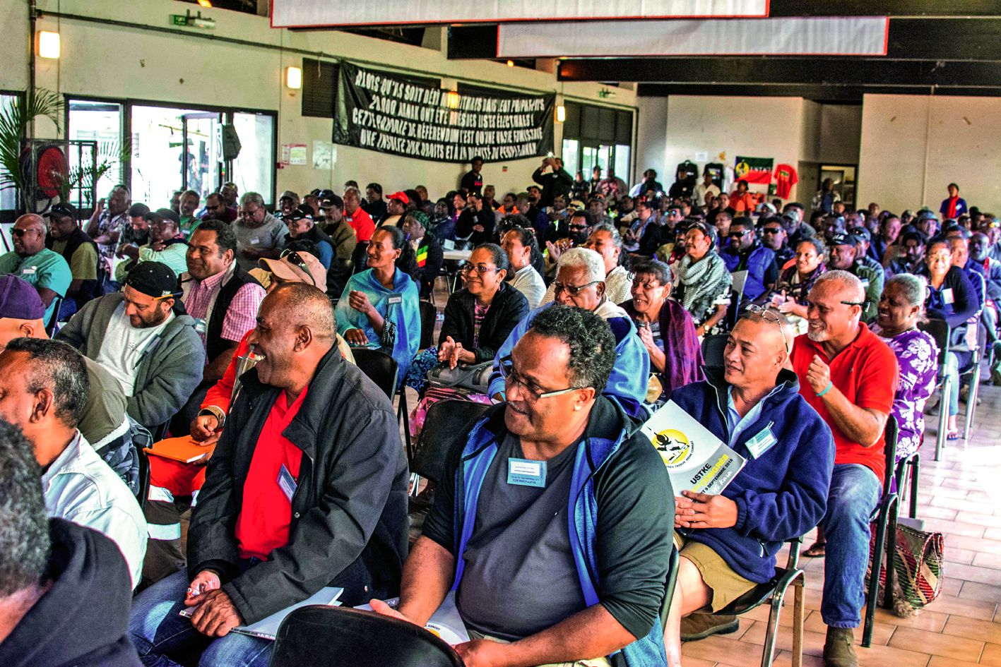 Plusieurs centaines de personnes étaient présentes hier. « On sera plus nombreux ce week-end », assure l'organisation.