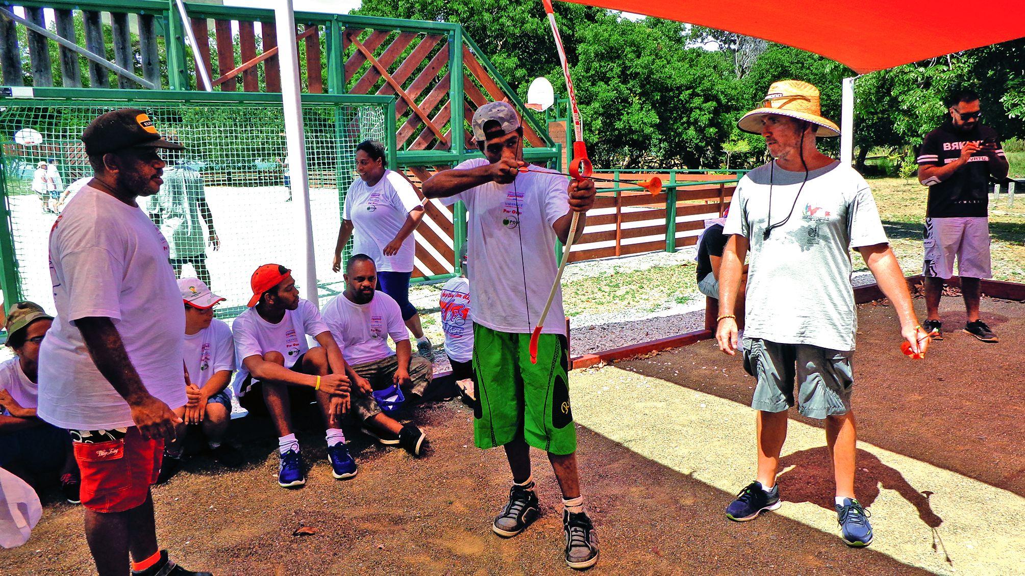 Cette matinée s'est déroulée au Centre des activités de la province Sud, à Poé, en toute fraternité, alliant sport et plaisir.