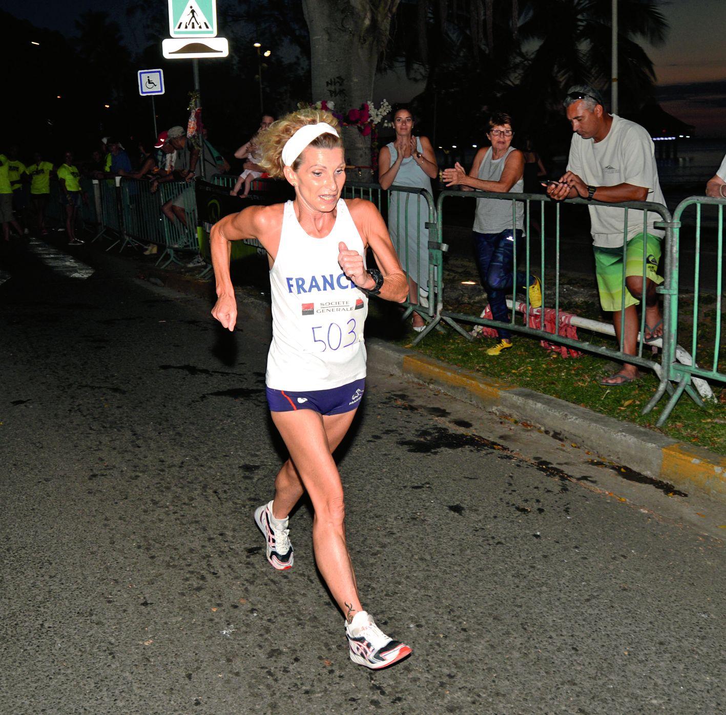 Pas de surprise du côte des marcheurs. Carole Imbert, championne du monde sur 5 000 m dans sa catégorie a devancé les quatre autres athlètes de la discipline présents hier.