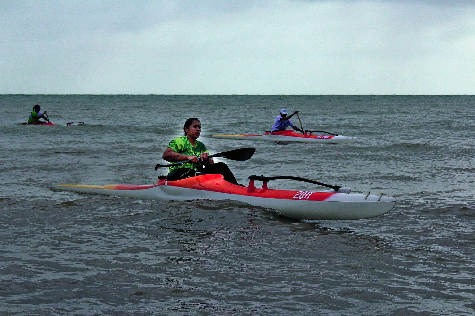 Ce n'est pas la première fois que Marcy Manate remporté le doublé vitesse / longue distance. Photo T.M.