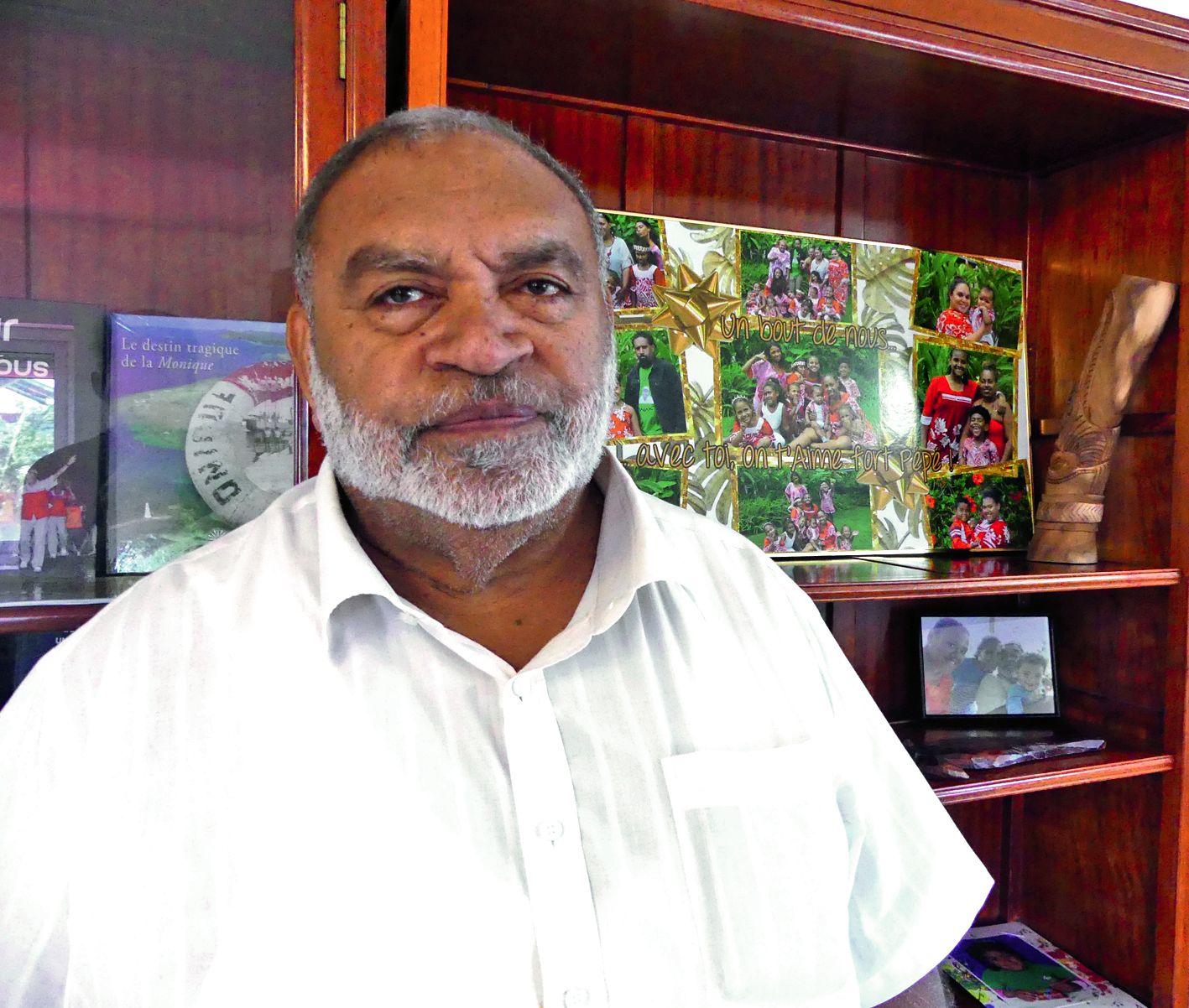 Louis Kotra Uregei, chef d'entreprise. Photo Archives LNC
