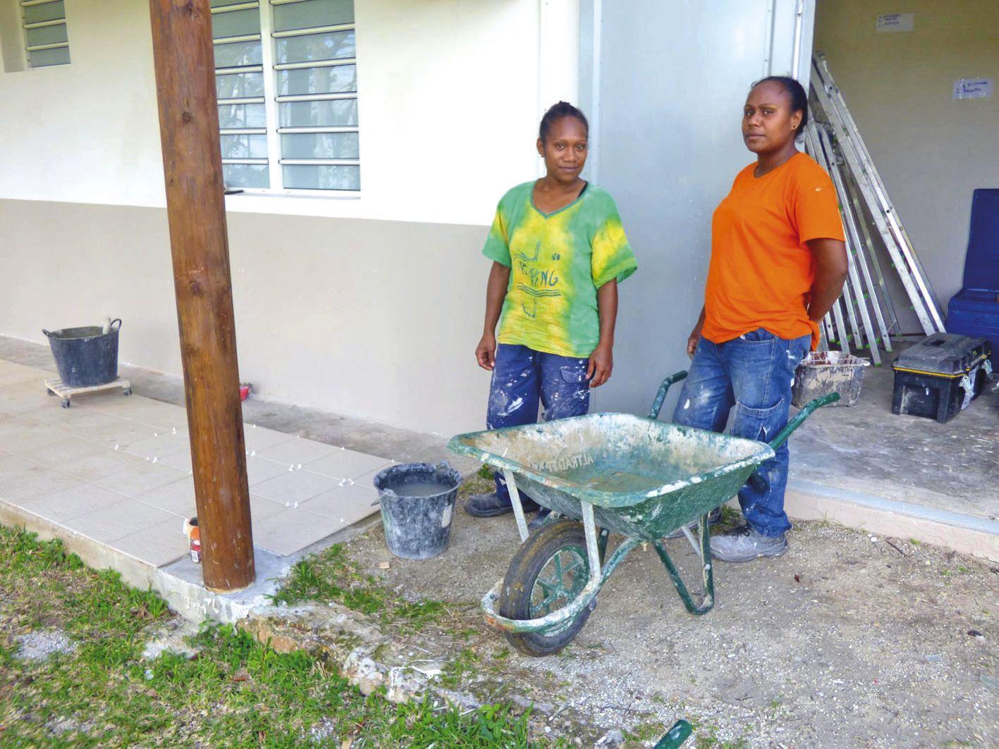 Après le chantier, les participants prévoient de reprendre des études ou des formations au RSMA.