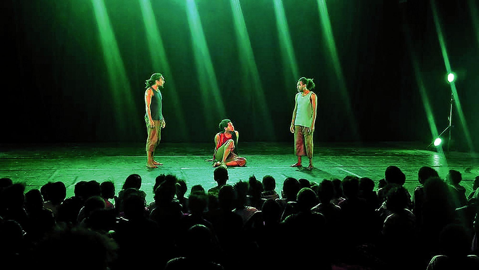 Le Chapitô a proposé plusieurs spectacles du 18 au 26 juillet.Photo Chapitô