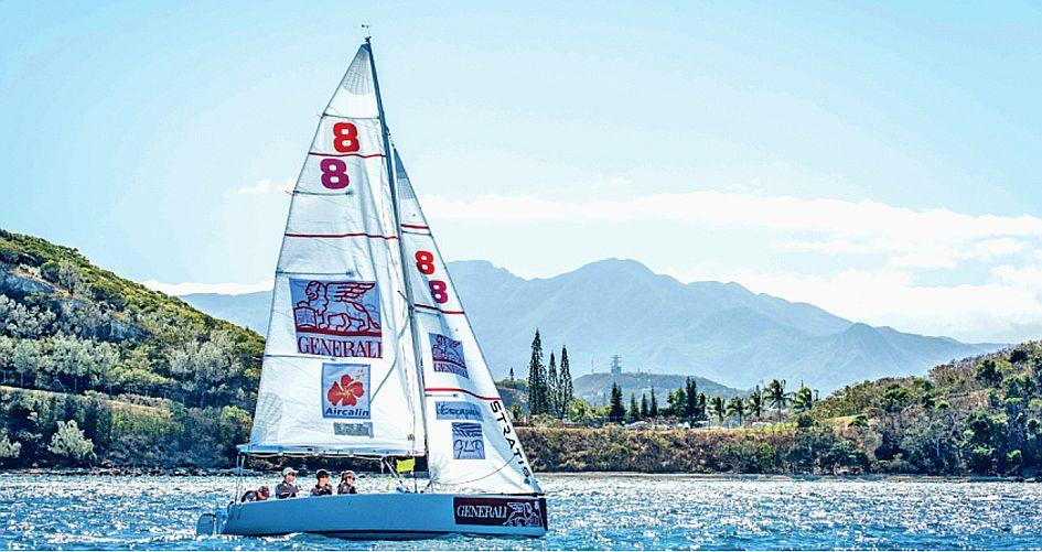 Cyril Fortin, vainqueur en 2017, naviguera cette année avec Lucas Chatonnnier et Théo Boré.Photo archives LNC
