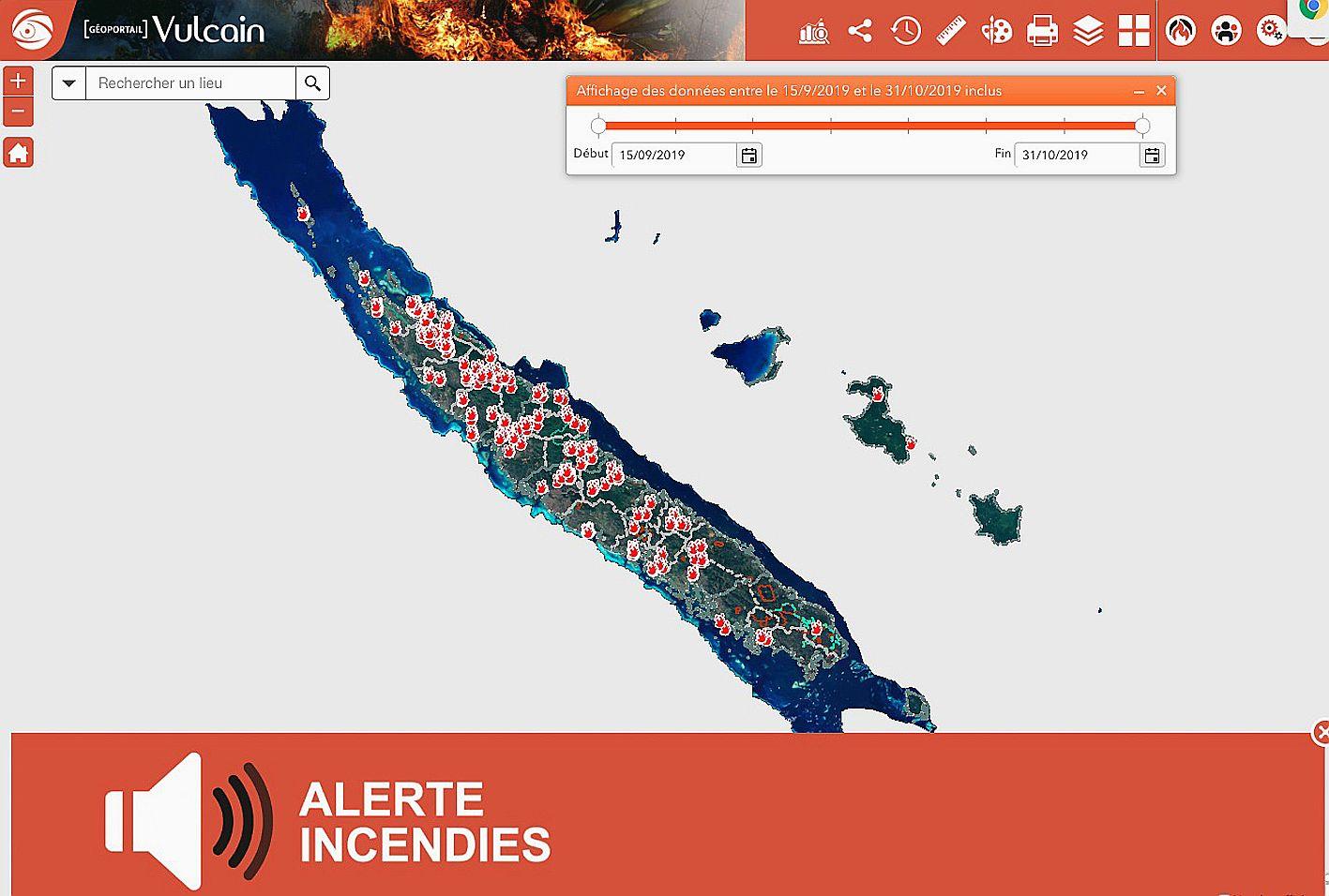 Depuis le début de la saison des feux de forêt, 197 incendies ont déjà été dénombrés. Photo DR