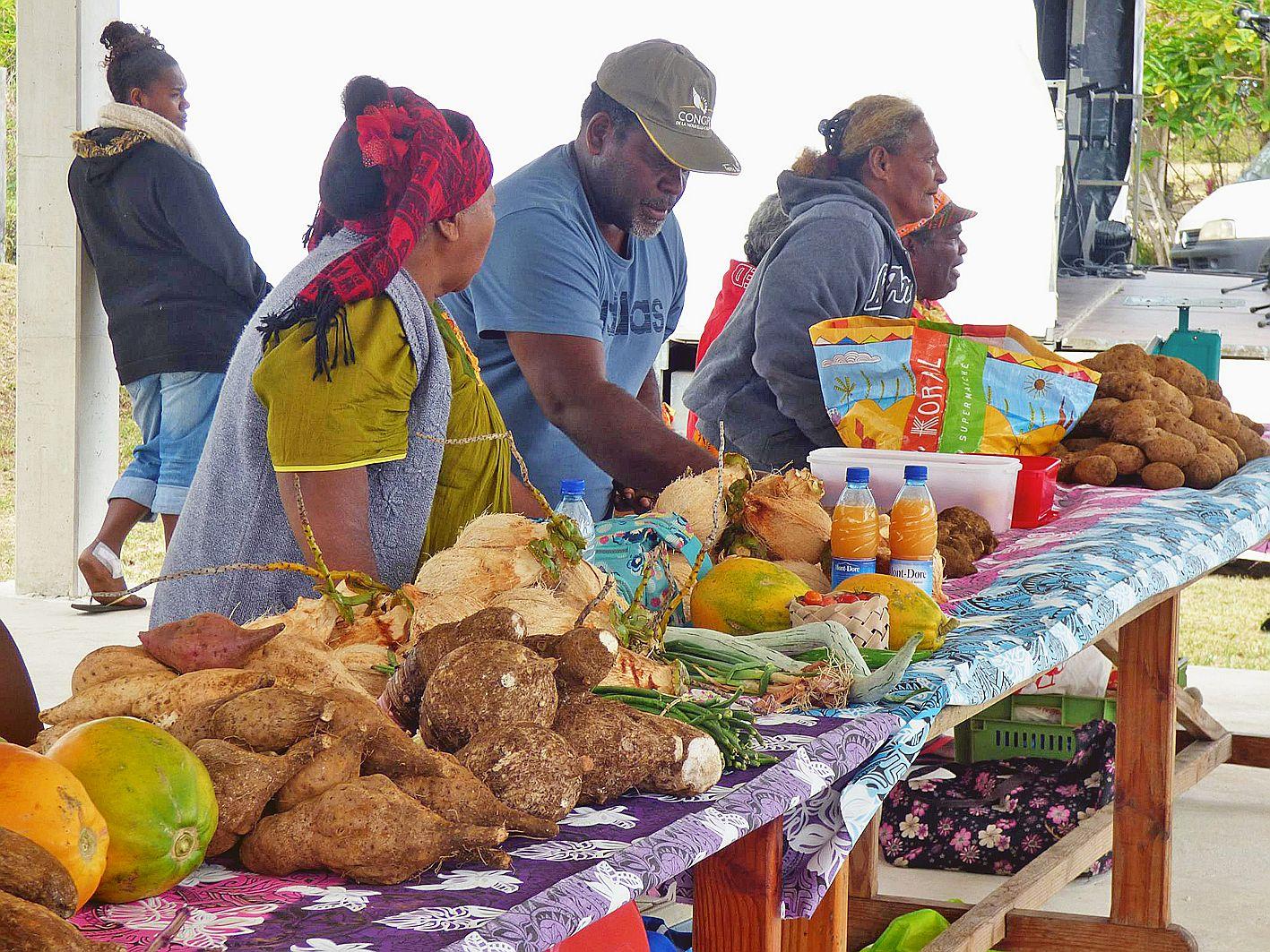 Les visiteurs ont pu faire leur marché de produits frais et naturels, se restaurer dans les nombreux stands ou participer aux randonnées pédestres sur le parcours des sites légendaires, sur les falaises de la tribu, à la grotte d'Inegoj jusqu'au lac d'eau