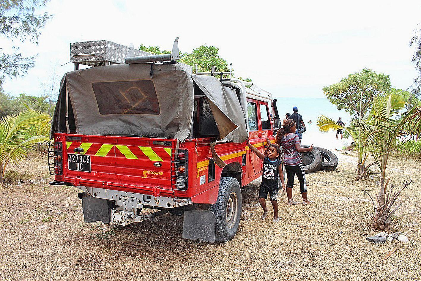 Beaucoup d\'enfants ont assisté à la journée, l\'occasion de découvrir le métier de pompier et le matériel utilisé pour les interventions.