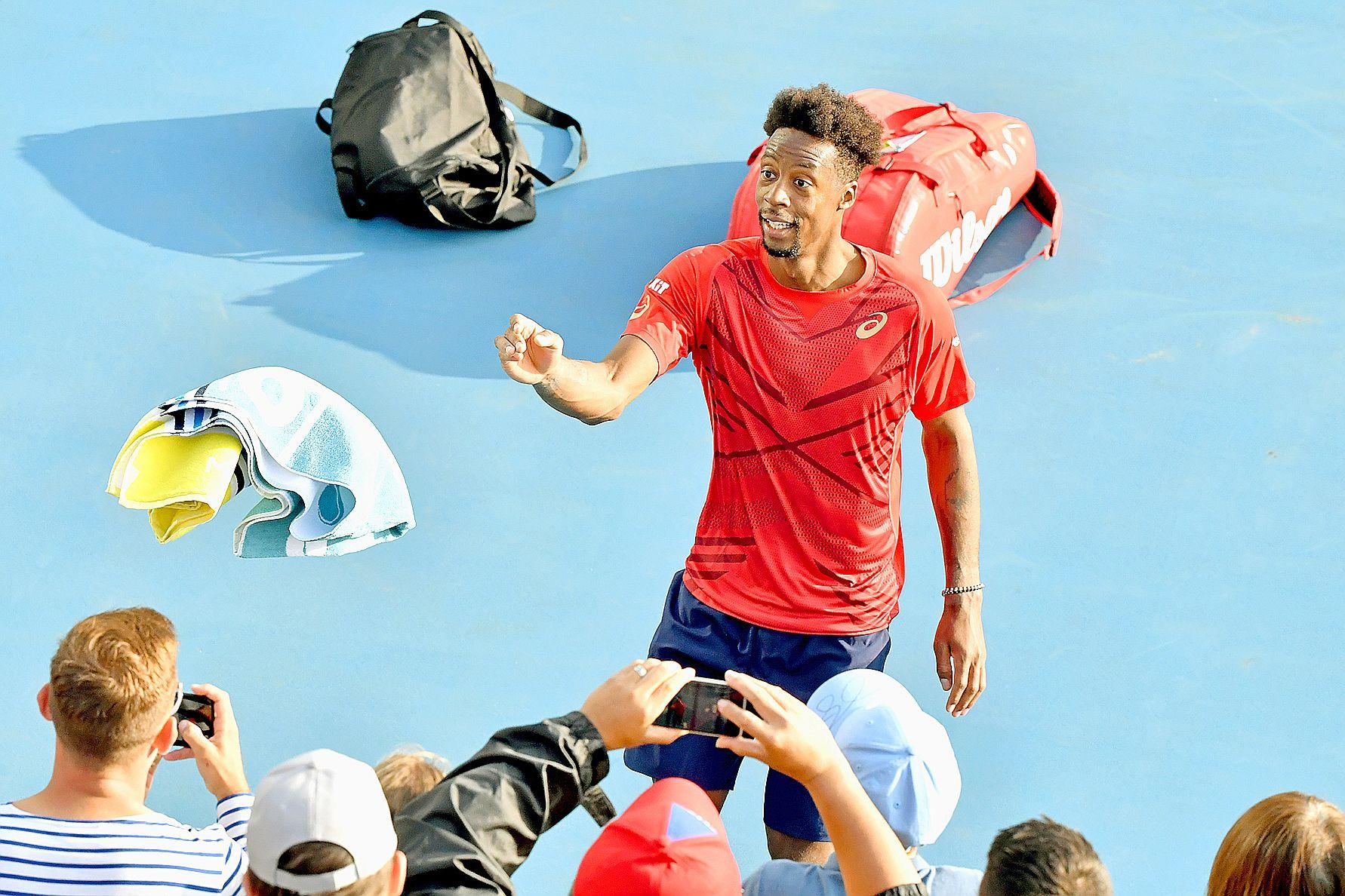 Le Français jouera au 3e tour aujourd'hui contre le Letton Ernests Gulbis (256e) pour une place en 8e de finale. Photo AFP