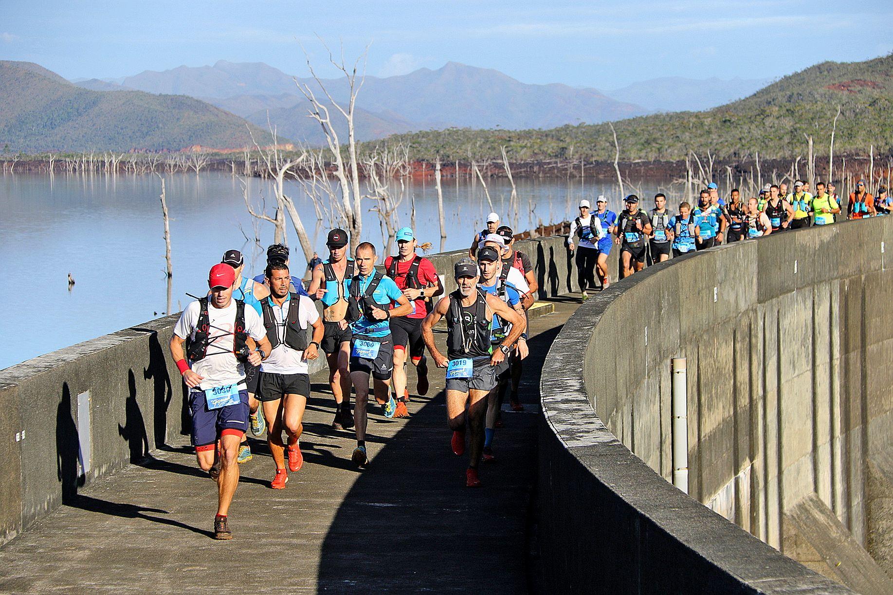 La Free to run aura lieu non loin de Yaté, d'où part la Gigawatt, également organisée par Challenge organisation. Photo archives LNC