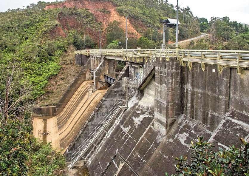 Tous les barrages en Calédonie sont conçus et inspectés par la Dimenc et le bureau d'études techniques rattaché au ministère de la Transition écologique. Photo archives LNC, Julien Cinier