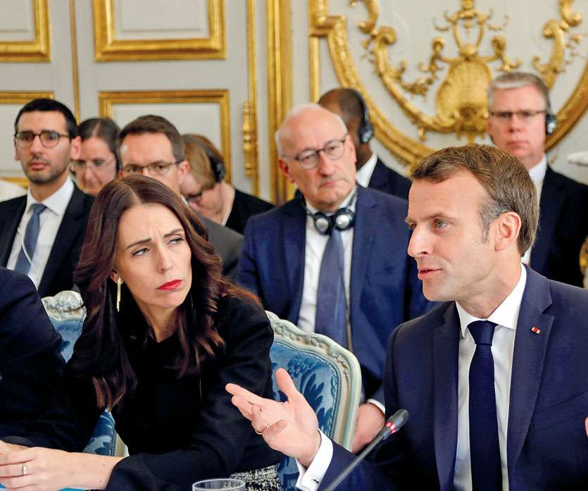 La Première ministre néo-zélandaise Jacinda Ardern et le président français Emmanuel Macron ont mené les débats. Le Canada, l'Irlande, la Jordanie, la Norvège, le Royaume-Uni, le Sénégal et l'Indonésie les ont suivis. Australie, Allemagne, Japon, Pays-Bas