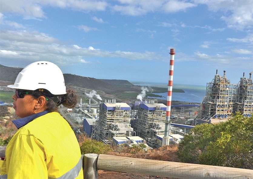 « Grâce à un gisement de nickel d'une qualité exceptionnelle, Koniambo Nickel assurera une exploitation à long terme et à faible coût, dans le cadre d'une politique de développement durable exigeante », signale KNS. Archives LNC/ Yann Mainguet