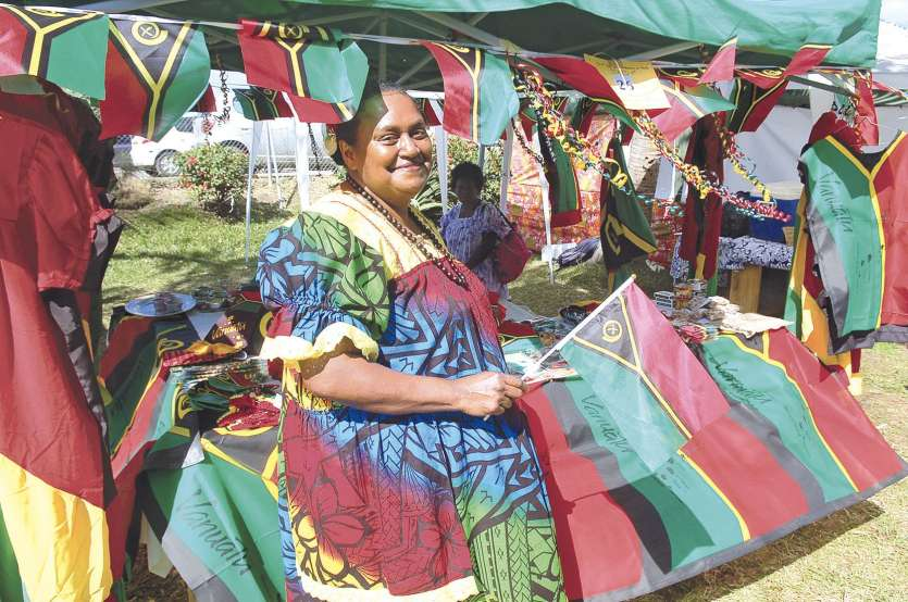 Célestine, originaire de Port-Vila, ne rate jamais ce rendez-vous annuel.