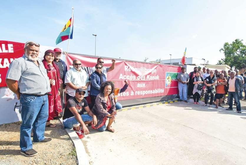 Louis Kotra-Uregeï et Sylvain Pabout faisaient partie des militants mobilisés.