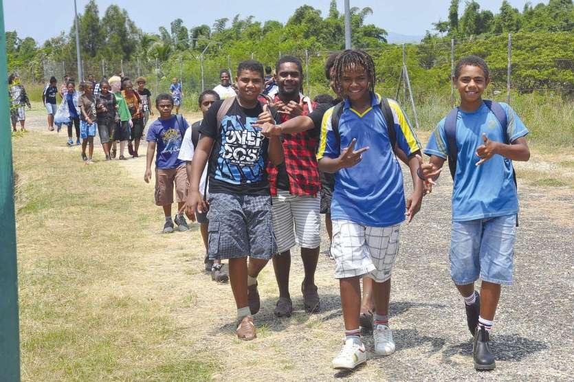 Quatre-vingt-treize élèves pensionnaires sont attendus à terme à l'internat provincial de Ouégoa.