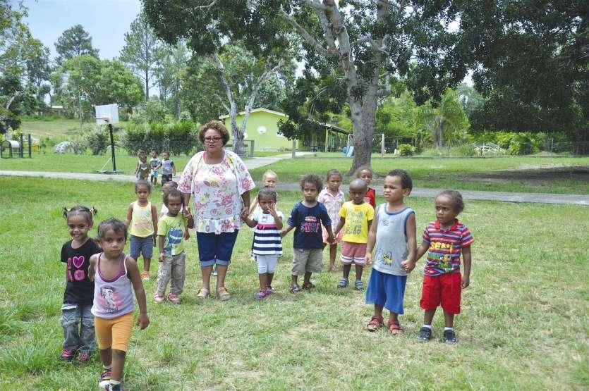 Les enfants de l'école catholique de Bondé ont fait leur rentrée mardi dernier.