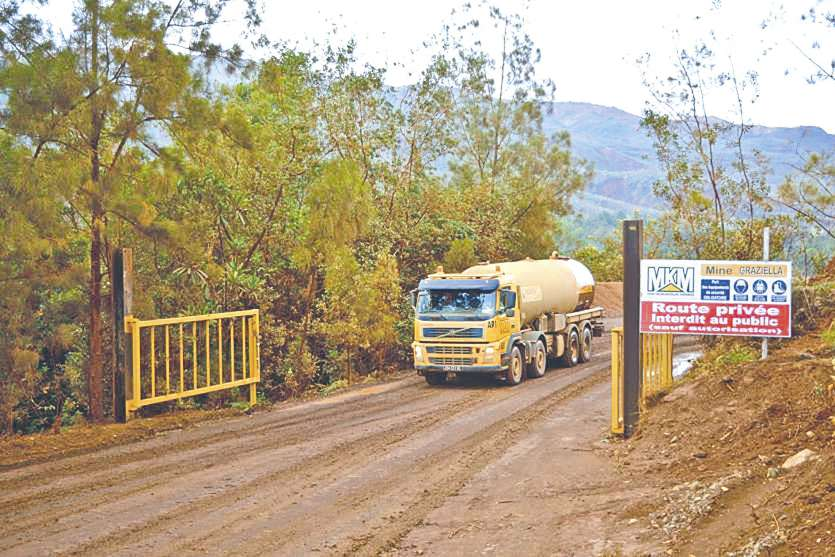 MKM a décidé d'anticiper les travaux d'accès à la mine et d'apporter les mesures correctrices après la visite de la Dimenc.