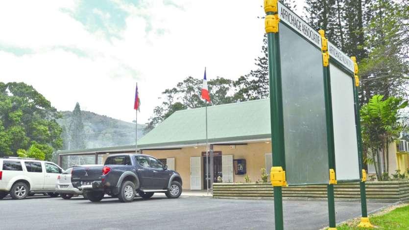 Commune de moins de mille habitants, Sarraméa est concernée par un scrutin de liste à un seul tour avec représentation proportionnelle selon la règle de la plus forte moyenne.Photo Archives LNC