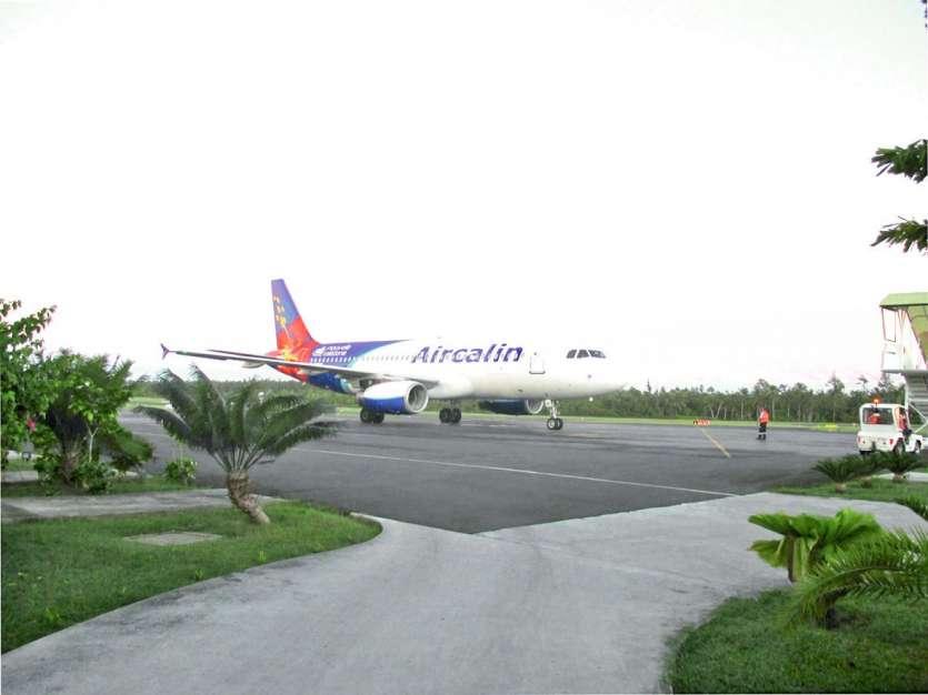 Le blocage de l'aéroport de Hihifo avait duré dix jours. Un millier de passagers avaient été affectés. Archives LNC