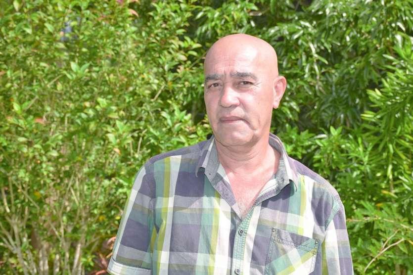 Thierry Cyprien Kawa, 59 ans, conduit la liste Sarraméa autrement. F.D.