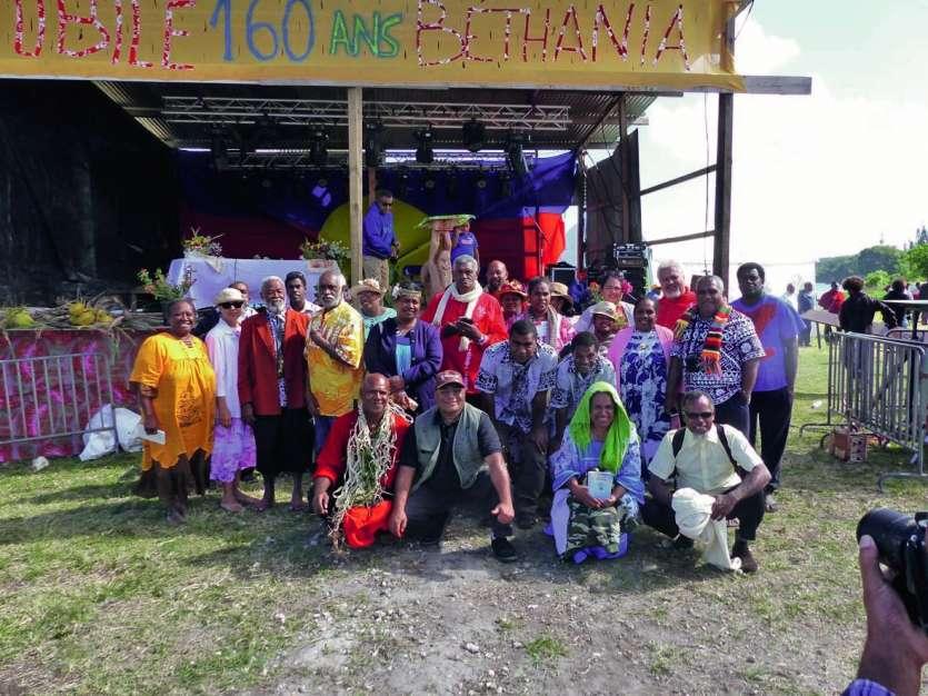Les autorités de l'EPKNC, les étudiants-pasteurs, les pasteurs retraités, les responsables de l'école se sont retrouvés pour partager durant ces trois jours de fête.
