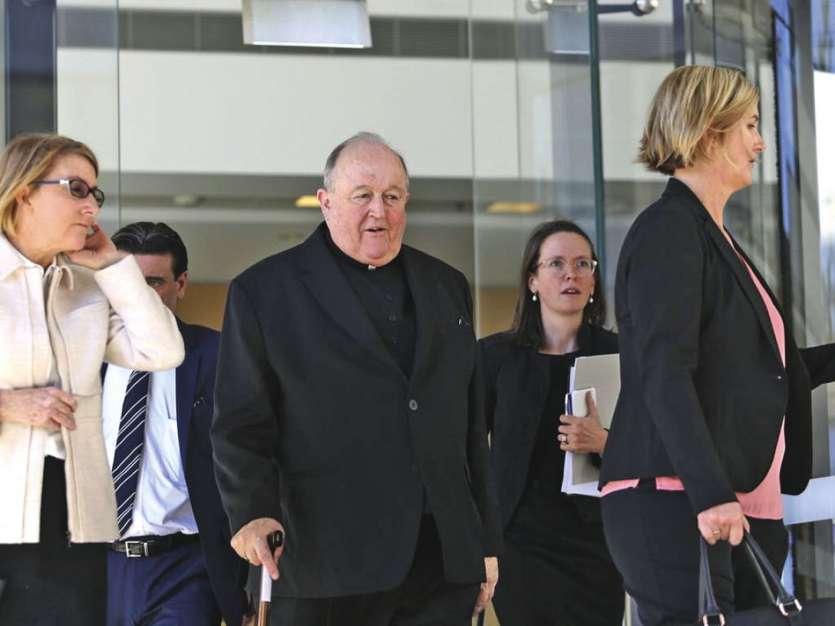 Philip Wilson a été archevêque d'Adélaïde de 2001 à juillet 2018.Photo AFP
