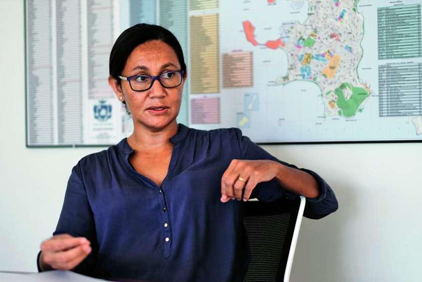 Née à Koumac, Marie-Paule Tourte-Trolue est devenue la première femme commissaire déléguée de la République pour la province Nord, en juin. Photo J.C.
