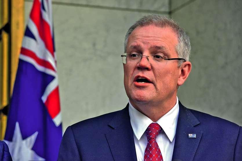 Le Premier ministre australien, Scott Morrison, pourrait chercher à se rapprocher de Washington,  en pleine guerre commerciale mondiale.Photo DR