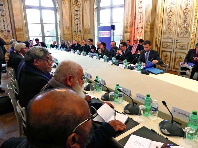 Le comité s'est ouvert sur de profonds désaccords sur la marche à suivre après le premier référendum. Photo P.F.