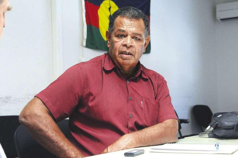 Daniel Goa n'a pas mâché ses mots contre la SLN, coupable selon lui « d'évasions fiscales » depuis 35 ans. Archives LNC