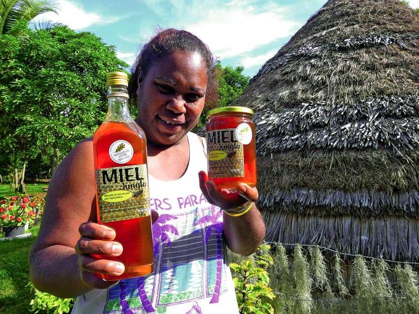 Le miel Les Tresors de l\'île-Miel de la jungle, de Prisca Wako Sinemaja, avait déjà remporté une médaille l'an passé.Photo Archives