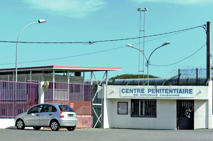 Le prisonnier ne voulait pas réintégrer sa cellule après une promenade, le 14 mars dernier.  Un surveillant a insisté. Le jeune homme lui a alors mis un coup de poing au visage. Archives LNC