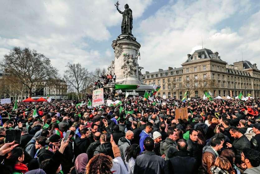 760 000 immigrés algériens vivent en France, selon l'Institut national français de la statistique (Insee). Photo François Guillot/AFP