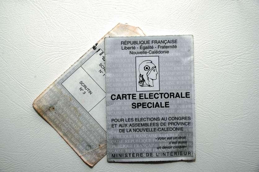 Les nouvelles cartes électorales spéciales devraient arriver juste avant le scrutin.Photo Th. Perron