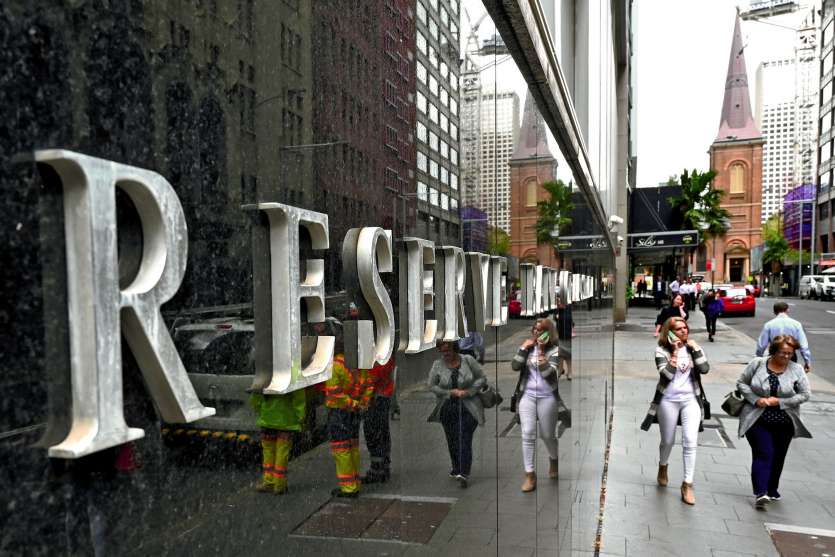 Contrairement au gouvernement, la banque centrale australienne craint un ralentissement économique.Photo AFP