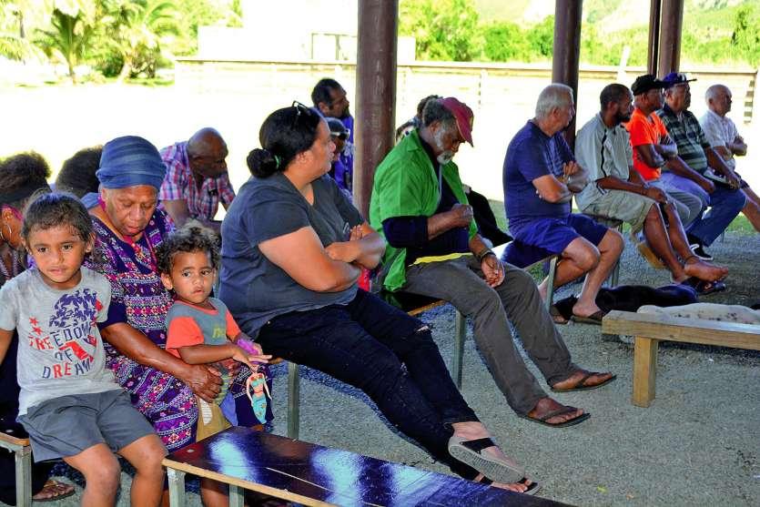 Une trentaine de personnes ont assisté à cette réunion d'information.Photos N.B.