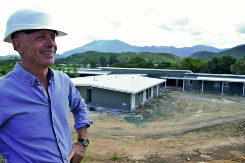 Le Dr Nicolas Toga souhaite créer un nouveau type d'établissement. Photos J.J /Infographie Gaelle Henry Architecture et urbanisme.