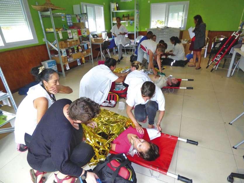 Les victimes ont été prises en charge par les équipes médicales de Xépénéhé et de Wé. Photos M.G.