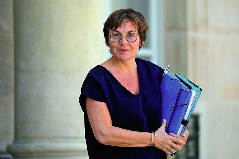 Selon Le Parisien, la ministre des Outre-mer « aurait pris une soufflante » du président en Conseil des ministres.Photo AFP