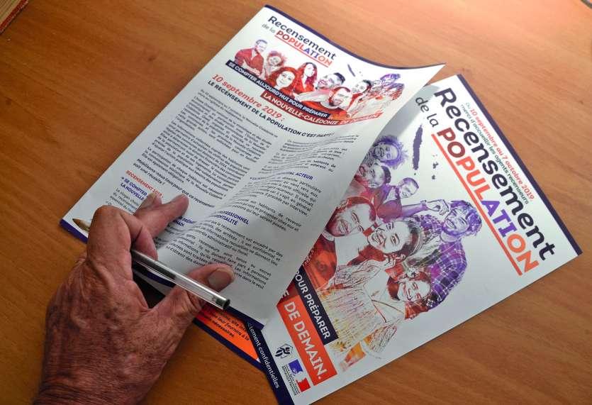 Une campagne d'information sera organisée avant le début du recensement.