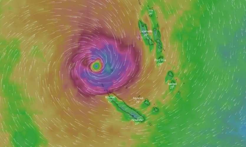 OMA influencerait la Nouvelle Calédonie à partir de dimanche — Pacifique Sud