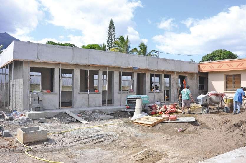 La fin de l\'extension des bureaux de la mairie figure parmi les projets phares des orientations budgétaires.