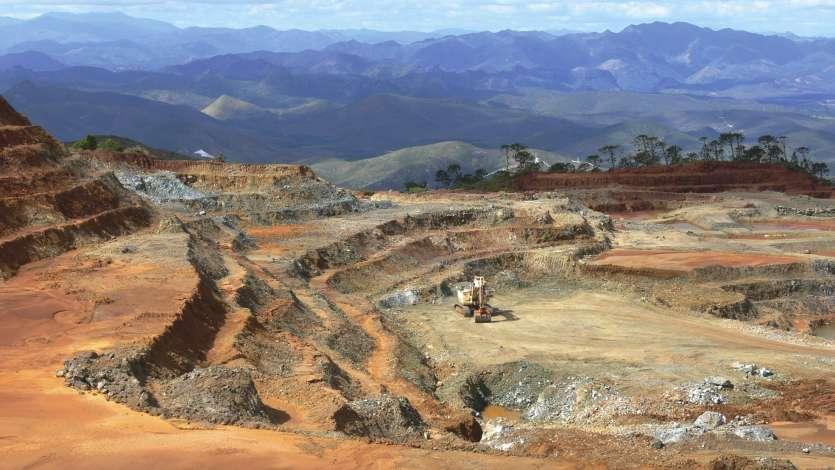 La mine Alpha à Tiébaghi.