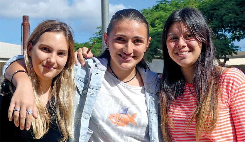 Marilou Zumbiehl termine sixième, Vaina Mardirossian se classe quatrième et Jennyfer Masson est première du classement local. Photo G.R.