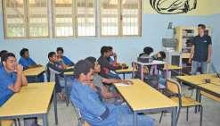 Les lycéens sensibilisés  à la sécurité routière