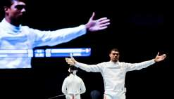 Escrime: l'équipe de France masculine d'épée sacrée championne du monde