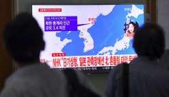 Séisme en Corée du Nord: probablement une simple réplique sismique